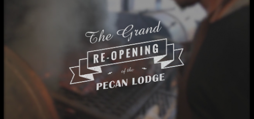 The Grand Re-Opening of Pecan Lodge