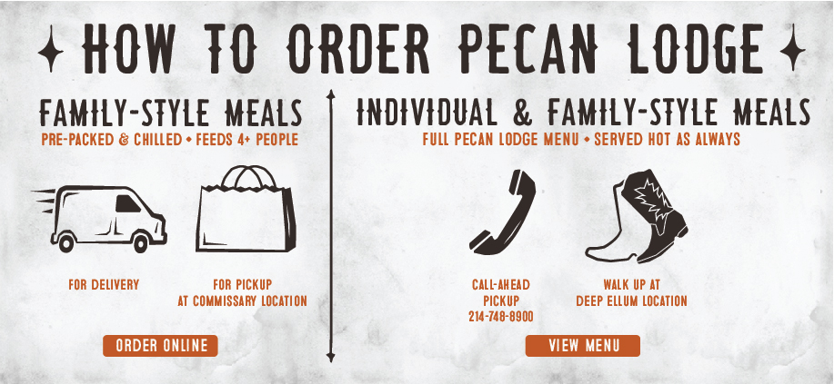 Home Delivery and Pickup: Family Style Meal